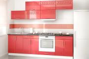 Фото 18 Прямая кухня 2,5 метра: обзор вариантов и советы по выбору правильного гарнитура