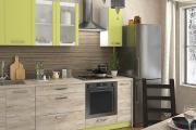 Фото 19 Прямая кухня 2,5 метра: обзор вариантов и советы по выбору правильного гарнитура