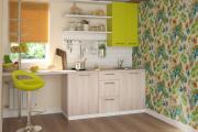 Фото 22 Прямая кухня 2,5 метра: обзор вариантов и советы по выбору правильного гарнитура