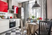 Фото 4 Прямая кухня 2,5 метра: обзор вариантов и советы по выбору правильного гарнитура