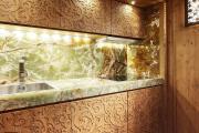 Фото 28 Прямая кухня 2,5 метра: обзор вариантов и советы по выбору правильного гарнитура