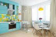 Фото 29 Прямая кухня 2,5 метра: обзор вариантов и советы по выбору правильного гарнитура
