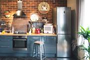Фото 30 Прямая кухня 2,5 метра: обзор вариантов и советы по выбору правильного гарнитура