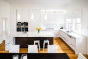 Фото 11 Создаем дизайн кухни площадью 30 кв. метров: тренды, планировки и лучшие интерьерные идеи