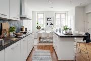 Фото 29 Обилие света и воздуха: секреты дизайна интерьера кухни на 40 кв. метрах