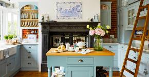 Дизайн кухни в деревенском доме: 70+ лучших фотоидей для уютного кантри, теплого шале или утонченного прованса фото