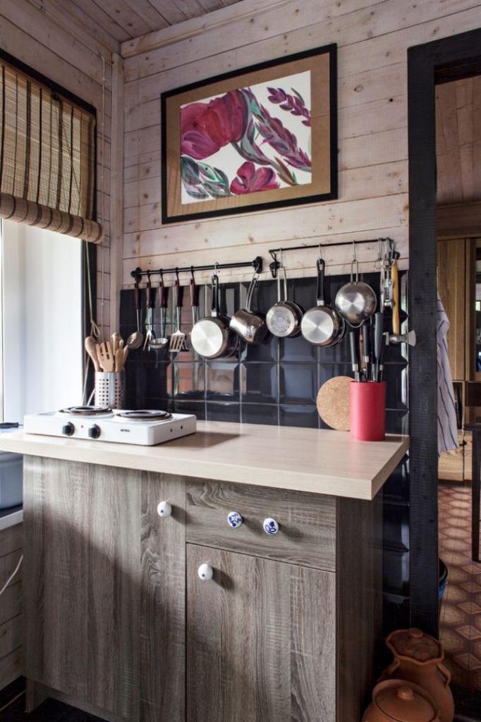 Дизайн кухни в деревенском доме 60 Фото Стильные идеи ❤