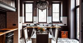 Интерьер кухни в стиле фьюжн (60 фото): лучшие идеи для тех, кто устал от обыденного и скучного дизайна фото