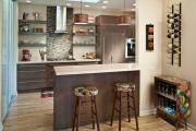 Фото 9 Интерьер кухни в стиле фьюжн: все тонкости самобытного и целостного дизайна