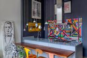 Фото 5 Интерьер кухни в стиле фьюжн (60 фото): лучшие идеи для тех, кто устал от обыденного и скучного дизайна