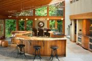 Фото 13 Интерьер кухни в стиле фьюжн (60 фото): лучшие идеи для тех, кто устал от обыденного и скучного дизайна