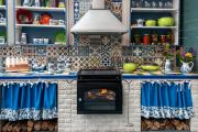 Фото 15 Интерьер кухни в стиле фьюжн (60 фото): лучшие идеи для тех, кто устал от обыденного и скучного дизайна