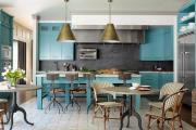 Фото 19 Интерьер кухни в стиле фьюжн (60 фото): лучшие идеи для тех, кто устал от обыденного и скучного дизайна