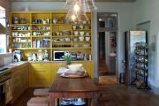 Фото 20 Интерьер кухни в стиле фьюжн (60 фото): лучшие идеи для тех, кто устал от обыденного и скучного дизайна