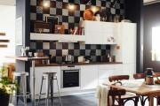 Фото 22 Интерьер кухни в стиле фьюжн (60 фото): лучшие идеи для тех, кто устал от обыденного и скучного дизайна