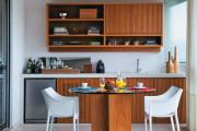 Фото 25 Интерьер кухни в стиле фьюжн (60 фото): лучшие идеи для тех, кто устал от обыденного и скучного дизайна