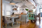 Фото 27 Интерьер кухни в стиле фьюжн (60 фото): лучшие идеи для тех, кто устал от обыденного и скучного дизайна