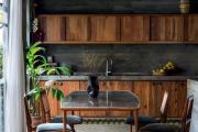 Фото 28 Интерьер кухни в стиле фьюжн (60 фото): лучшие идеи для тех, кто устал от обыденного и скучного дизайна
