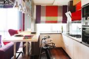 Фото 30 Интерьер кухни в стиле фьюжн (60 фото): лучшие идеи для тех, кто устал от обыденного и скучного дизайна