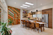 Фото 4 Интерьер кухни в стиле фьюжн: все тонкости самобытного и целостного дизайна