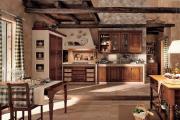 Фото 5 Альпийская романтика: 60+ теплых и уютных фотоидей для кухни в стиле шале