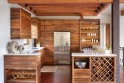 Фото 8 Альпийская романтика: 60+ теплых и уютных фотоидей для кухни в стиле шале