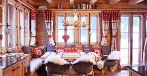 Альпийская романтика: 60+ теплых и уютных фотоидей для кухни в стиле шале фото