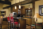 Фото 13 Альпийская романтика: 60+ теплых и уютных фотоидей для кухни в стиле шале