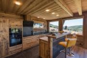Фото 14 Альпийская романтика: 60+ теплых и уютных фотоидей для кухни в стиле шале