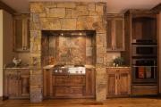 Фото 15 Альпийская романтика: 60+ теплых и уютных фотоидей для кухни в стиле шале
