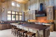 Фото 22 Альпийская романтика: 60+ теплых и уютных фотоидей для кухни в стиле шале