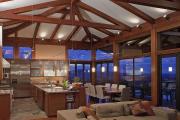 Фото 29 Альпийская романтика: 60+ теплых и уютных фотоидей для кухни в стиле шале