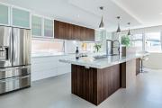 Фото 7 Дизайн кухни вдоль окна (60+ фото и идей планировки): безусловный стиль и эргономика