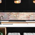 Эргономика вне стандартов: 60+ вариантов современного дизайна кухни вдоль окна фото