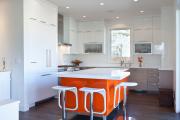 Фото 27 Дизайн кухни вдоль окна (60+ фото и идей планировки): безусловный стиль и эргономика
