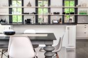 Фото 28 Дизайн кухни вдоль окна (60+ фото и идей планировки): безусловный стиль и эргономика