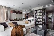 Фото 5 Планировка и дизайн для кухни-гостиной площадью 25 кв. метров