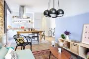 Фото 2 Планировка и дизайн для кухни-гостиной площадью 25 кв. метров