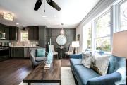 Фото 7 Планировка и дизайн для кухни-гостиной площадью 25 кв. метров