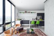 Фото 8 Планировка и дизайн для кухни-гостиной площадью 25 кв. метров