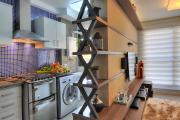 Фото 10 Планировка и дизайн для кухни-гостиной площадью 25 кв. метров