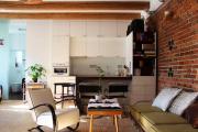 Фото 12 Планировка и дизайн для кухни-гостиной площадью 25 кв. метров