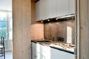 Фото 4 Планировка и дизайн для кухни-гостиной площадью 25 кв. метров