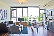 Фото 14 Планировка и дизайн для кухни-гостиной площадью 25 кв. метров