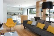 Фото 17 Планировка и дизайн для кухни-гостиной площадью 25 кв. метров