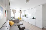 Фото 1 Планировка и дизайн для кухни-гостиной площадью 25 кв. метров