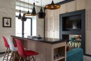 Фото 22 Планировка и дизайн для кухни-гостиной площадью 25 кв. метров