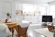 Фото 39 Планировка и дизайн для кухни-гостиной площадью 25 кв. метров
