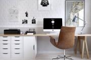 Фото 4 Маленький компьютерный стол (65 фото): лучшие компактные решения при небольшом бюджете