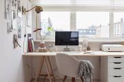 Фото 19 Маленький компьютерный стол (65 фото): лучшие компактные решения при небольшом бюджете